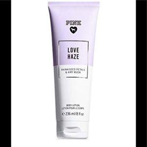 VS Pink Love Haze Body Lotion NWT